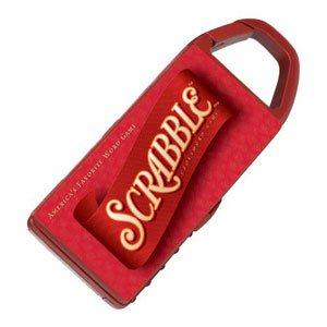 Basic Fun Mini Game Carabiner Scrabble