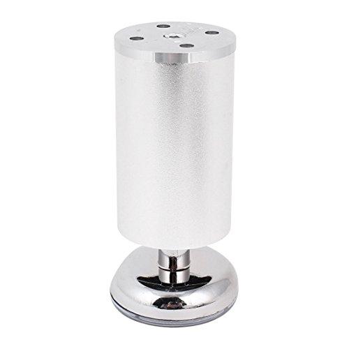 Möbel Schrank Sofa Tisch 12x5cm verstellbare Aluminium Beine Füße runden Basis de