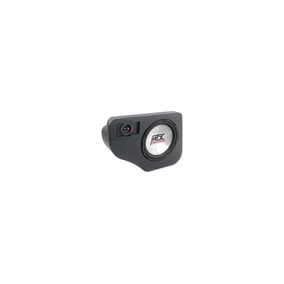 MTX Thunderform Subwoofer Enclosure for 1991 2001 Ford Explorer, Merc Mountaineer, Mazda Navajo Loaded w 1 10 Sub FEX10 T45