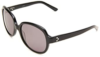 Converse Heritage Women's Converseations Cat Eye Sunglasses,Black Frame/Grey Lens,One Size
