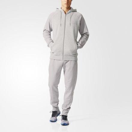 adidas Herren Trainingsanzüge ESS, Blau/Schwarz, 12, AB7441 günstig online kaufen