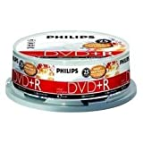 Philips - 25 x DVD+R - 4.7 GB 16x - printable surface - spindle - storage media