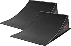 2-Pack Skateboard & BMX Freestyle Ramp-to-Ramp Launch Bundle by Discount Ramps