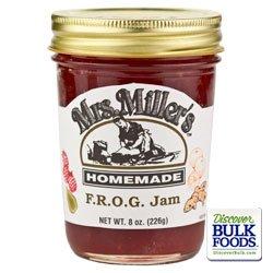 Mrs. Miller'S F.R.O.G. Jam, 8-Ounces (3 Jars)