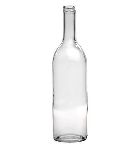750 Ml Clear Wine Bottles, Screw Cap Finish (Clear Caps compare prices)