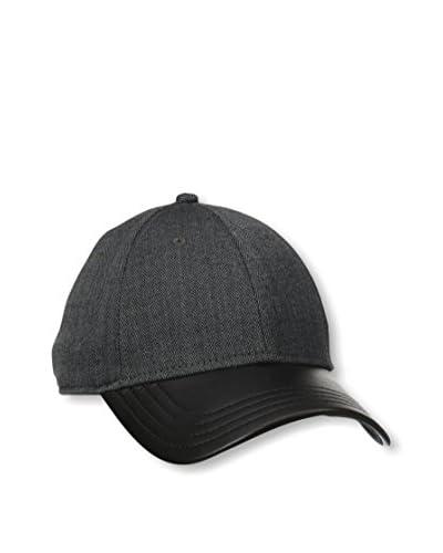 Gents Men's Herringbone Leather Hat
