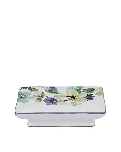 Creative Bath Bouquet Soap Dish, Purple/Teal