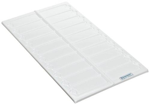 "Bel-Art Scienceware 445810000 Polystyrene Microscope Slide Tray, 13-1/2"" Length X 6-5/8"" Width (Box Of 6)"