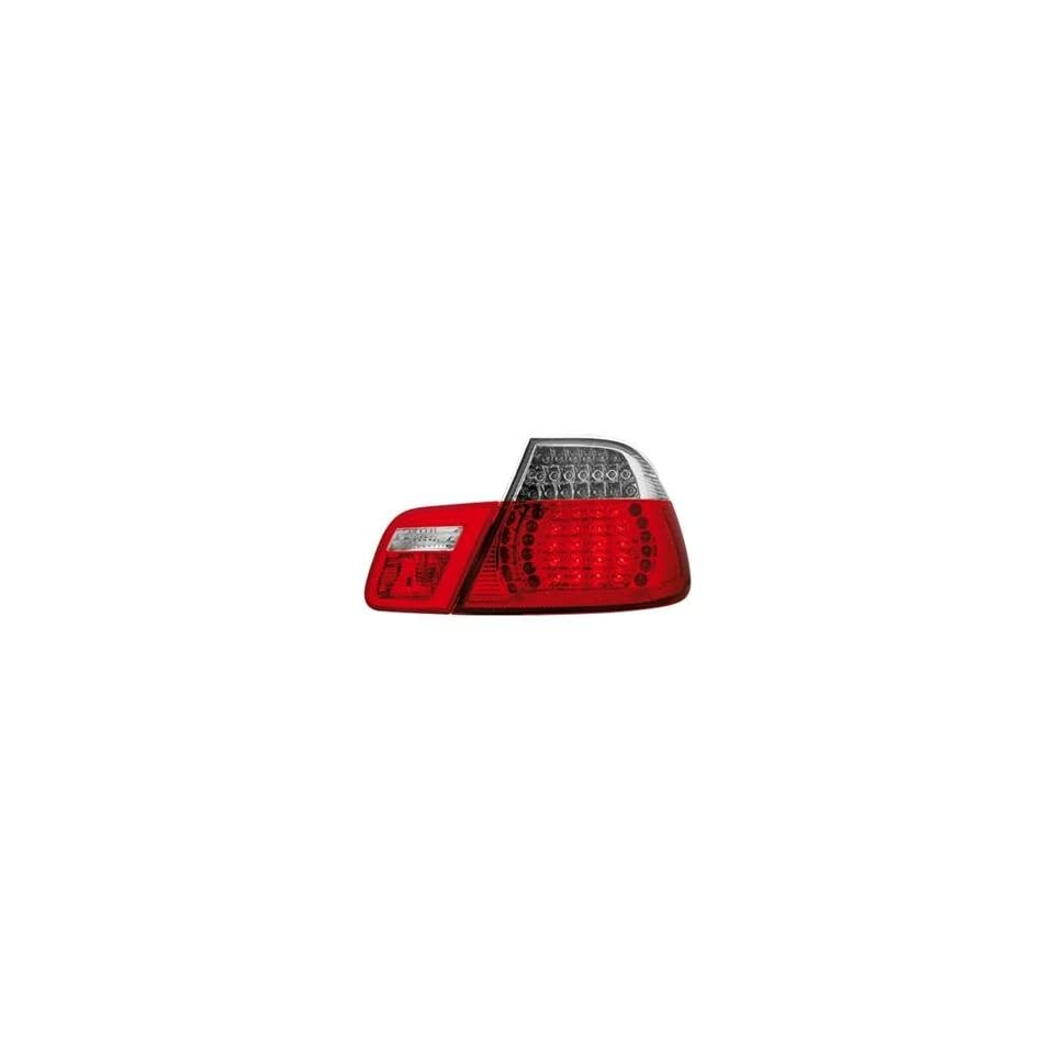 1999 2005 BMW E46 3 series Coupe or Sedan Clear LED Tail Lights