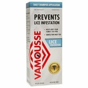 Amazon.com : Vamousse Head Lice Protection Shampoo by TyraTech Inc