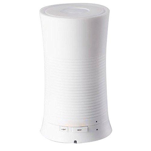 PowerLead PHL009 scart a ultrasuoni, 100 ml, Aroma: Cool Mist rilassanti, umidificatore e diffusore di oli essenziali per aromaterapia, rilassante e calmante & Multi-colore, con luce a LED, ideale per la casa
