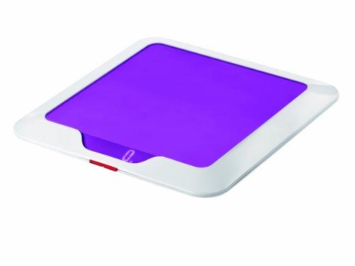 Guzzini 16850001 Balance de Cuisine Electronique Slim Glycine 2 x 23 x 23 cm