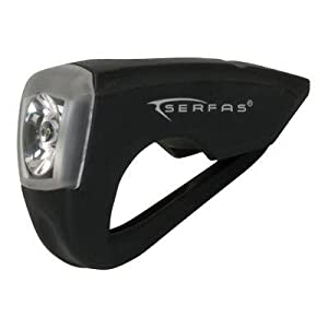 Serfas Silicone Usb Bicycle Head Light - Usl-s