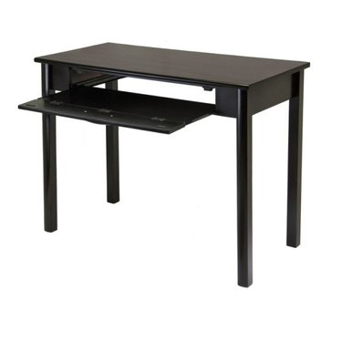 Buy Low Price Comfortable Liso Computer Desk with Pull Out Keyboard Shelf by Winsome Wood (B004H8ZKGK)