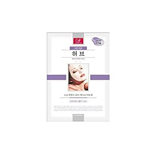 C&F Costmetics Herb Mask Sheet Pack 5 pcs
