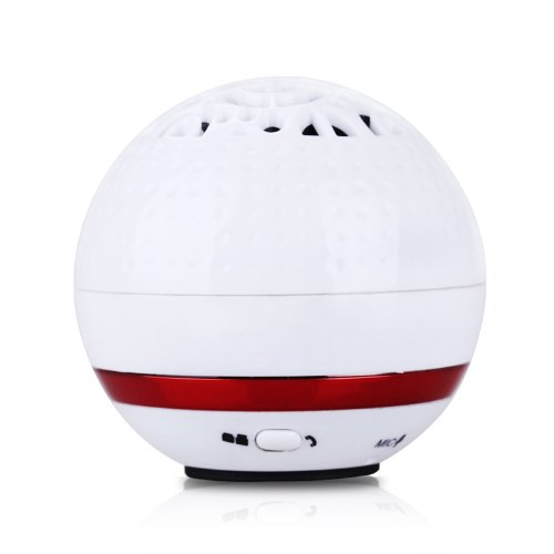 New Portable Bluetooth Loudspeaker Receiving Phone Calls With Mp3 Palyer, Mic And Usb Cable With 6 Hours Battery Connecting With Iphone Or Other Smart Phone