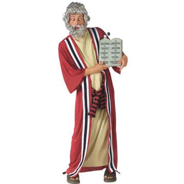 Moses and the 10 Commandments of Party Costume - Plus Size - Chest Size 48-53