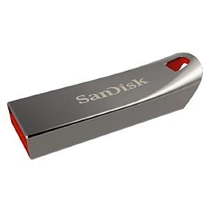 Sandisk Cruzer force USB flash/Pen drive durable metal casing