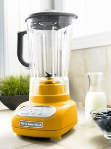 New Kitchenaid Yellow Pear 5-speed Blender Ksb560yp Unbreakable Jar Poly Carbontnew Kitchenaid Yellow Pear 5-speed Blender Ksb560yp Unbreakable Jar Poly Carbont One Day Shipping Good Gift Fast Shipping