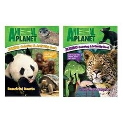 Animal Planet Jumbo Coloring and Activity Books 2 Pack - 1