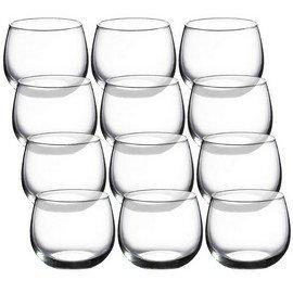 luminarc cachet 15 ounce stemless wine glasses 6 pack wine goblets wine glasses. Black Bedroom Furniture Sets. Home Design Ideas