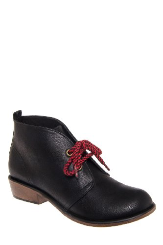 Dirty Laundry Pitch Low Heel Bootie