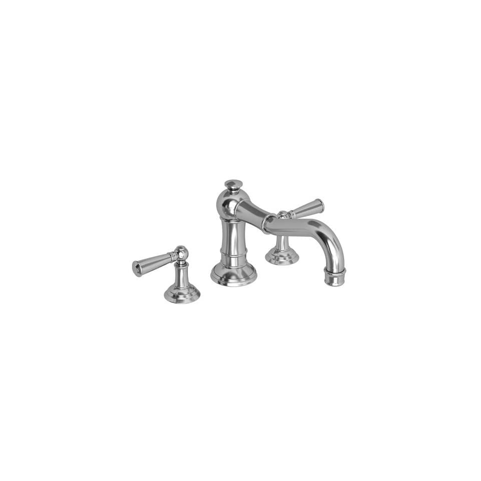 Newport Brass 3 2476 Double Handle Deck Mounted Roman Tub Filler with Tub Spout, Venetian Bronze