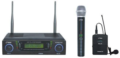 Pyle Pdwm3500 Wireless Microphone System