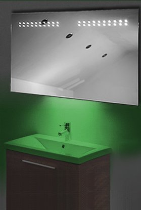 Ambient Shaver Led Bathroom Illuminated Mirror With Demister Pad & Sensor K14Sg