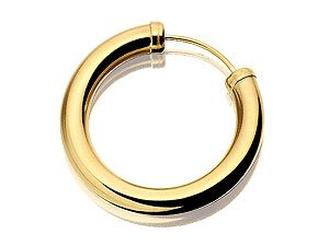 Hoop earrings describe earrings that are either completely circular or semi-circular in form. They are available in clip-on and pierced stud styles. You can try the clip-on first before taking the big step to actually getting your ear pierced.