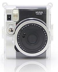 CAIUL Transparent fuji mini case for Fujifilm Instax Mini 90 Case