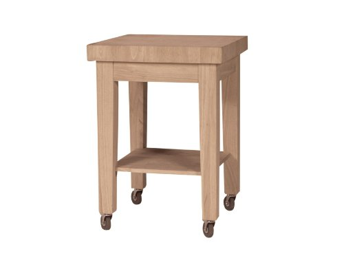 Cheap International Concepts *WC-2424 Kitchen Island RTA, Unfinished (WC-2424)