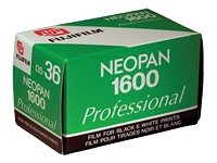 Fujifilm Neopan 1600 Pro Pellicule Photo Negatif Noir et Blanc Format 135 Monopack 36 poses
