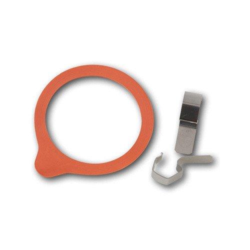 WECK ウェック ガラスキャニスター専用 クリップ&パッキンセット [ Sサイズ ]