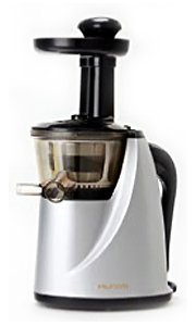 Hurom Slow Juicer Model HU-100S New Silver with Cookbook Discount