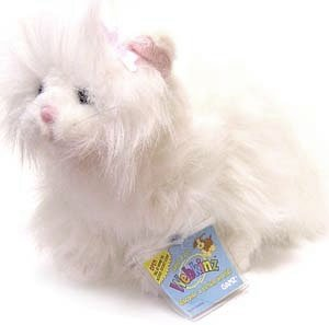 2007 Webkinz White Persian Plush Cat #HM110 - 1