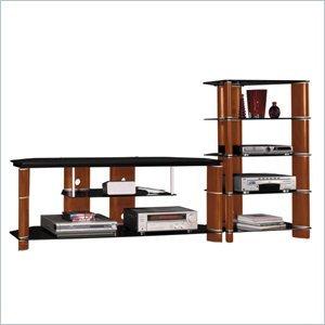 Cheap Bush Furniture Segments 58″ TV Stand and Audio Rack (AD11540-VS11560)