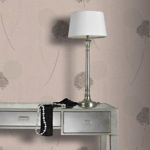 Graham and Brown Essence Alium Wallpaper - Taupe from New A-Brend