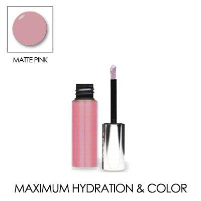 LIP INK Genuine Matte Moisturizing Lip Stain Trial Size 0.12 OZ./ 3.5 ML. (Matte Pink)