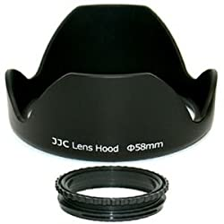 JJC LS series Screw-in tulip Lens Hood LS-58