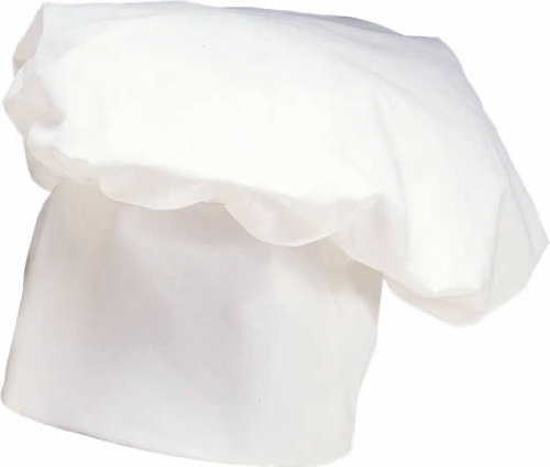 Rubie's Costume Deluxe Chef Hat, White, One Size