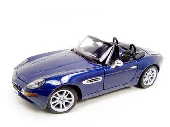 Buy Bmw Z8 Blue 1:18 Diecast Model