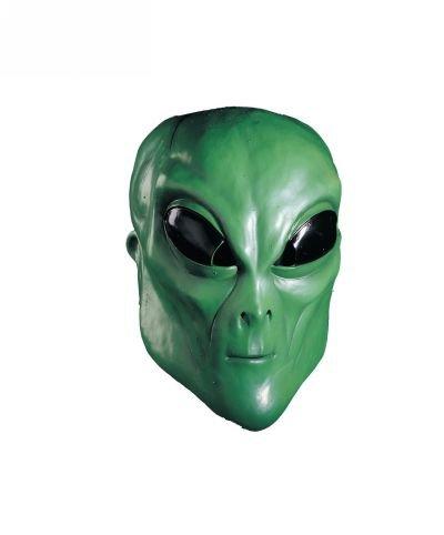 Alien Green Mask - Adult Accessory