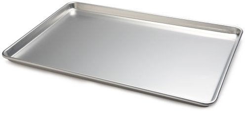 Focus Foodservice Commercial Bakeware 26 by 18 Inch 18 Gauge Aluminum Full Sheet Pan