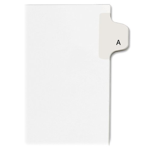 avery-individual-legal-exhibit-dividers-allstate-style-a-side-tab-85-x-11-inches-pack-of-25-82163