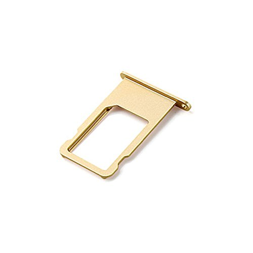 Ewparts SIM Card Tray Replacement for Iphone 6 Plus 5.5 Inch (Gold) (Iphone 6 Tray compare prices)