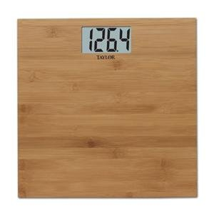 Image of NEW Taylor Bamboo Electronic Scale (Personal Care) (B007NNP83Q)
