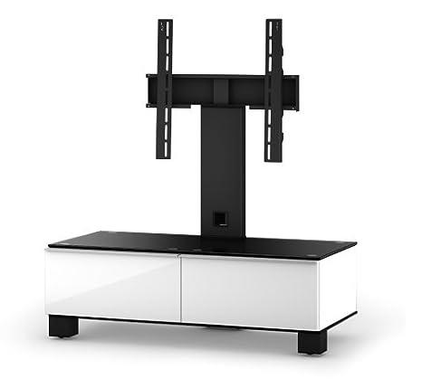 """Sonorous MD 8095-B-HBLK-WHT TV-Möbel fur 40"""" Fernseher"""