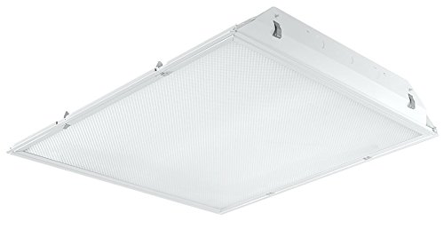 Rab Trled2X2-37Yn/D10 2X2 37W Led Troffer With Dimming 3500K, White