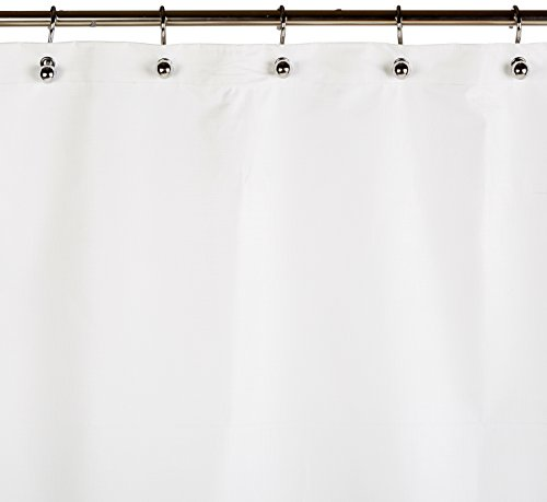 Csi Bathware Cur42x74nh Heavy Duty Commercial Shower Curtain Antistatic Staph Resistant Mold And